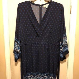 Michael Kors Dresses - MIchael Kors knee length long sleeve dress